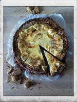 Creative Little Things: Käsekuchen mit Äpfeln und Amarettini-Keks-Boden